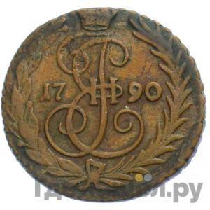 Аверс Денга 1790 года   Без обозначения монетного двора