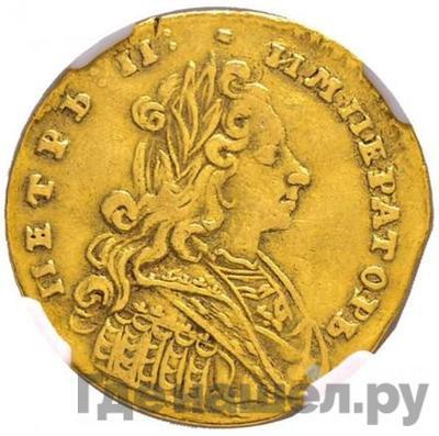 Аверс Червонец 1729 года