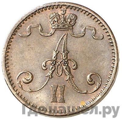 1 пенни 1873 года  Для Финляндии