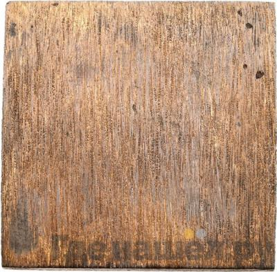 Реверс 5 копеек 1726 года  Медная плата