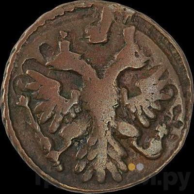 Реверс Полушка 1739 года